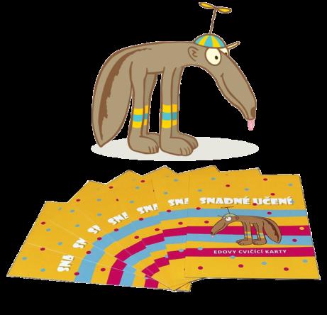 Eda a žluté karty snadné učení